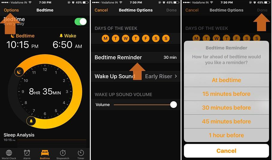 super popular 5cf93 25630 1-Change-Bedtime-reminder-on-iPhone-clock-app-or-Remove-it - Aegis ...